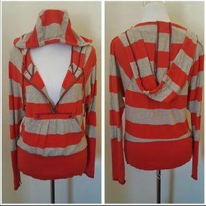 Free People striped hoody